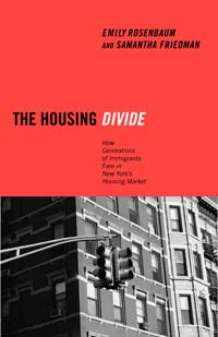 Rosenbaum's book tracks the upward mobility of racial and ethnic groups through an analysis of New York City's housing market. Graphic courtesy of New York University Press