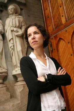 Nina Rowe, Ph.D. Photo by Michael Dames