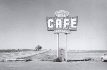"""""""Vega, Texas 1975"""" from The Mother Road Image Courtesy of Michael Putnam"""
