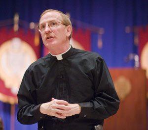 Joseph M. McShane, S.J., president of Fordham University. Photo by Ryan Brenizer