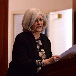 """Poet Daneen Wardrop read from her book """"Cyclorama."""""""