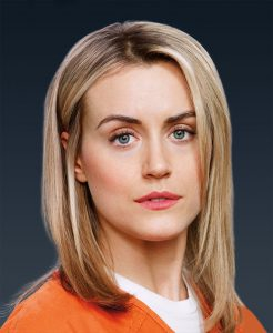 """I had no idea [the show]would be received the way it was,"" Taylor Schilling (above) says of Orange Is the New Black. (Jill Greenberg/Netflix)"