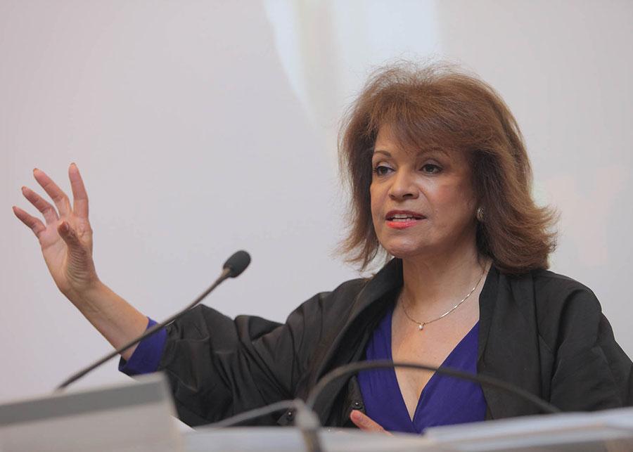 Milady Baez, deputy chancellor of DELLSS. Photo by Michael Dames