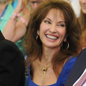"Susan Lucci praised the women of Marymount College who ""paved the road."" (Photo by Chris Taggart)"