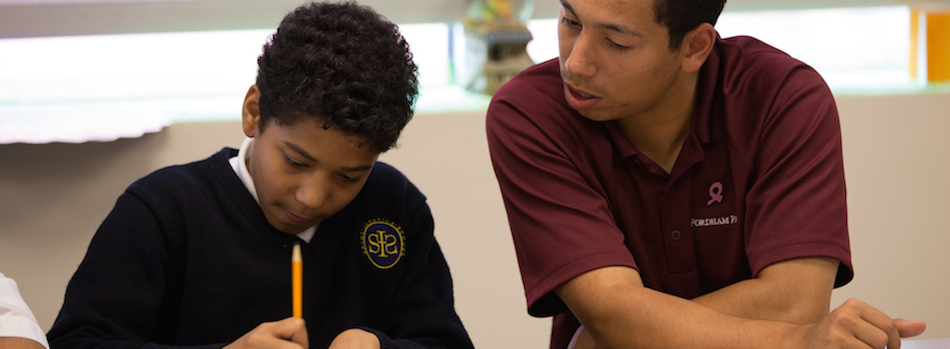 New endowment will assist Fordham Prep students that want to come to Fordham.