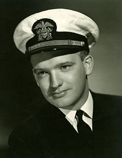 From 1943 to 1945, Donovan, an officer in the U.S. Naval Reserve, served as general counsel to the Office of Strategic Services—predecessor of the CIA. Courtesy of Hoover Institution Library & Archives, Stanford University