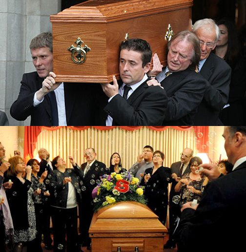 """The """"good funeral"""" vs. """"funeral light."""""""