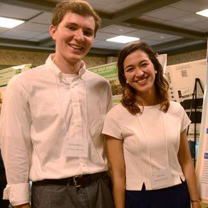 Zachary Mattes and Nina Le