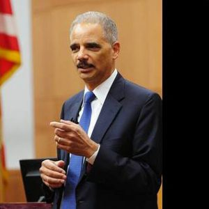 Former Attorney General Eric Holder Speaks with Fordham Law Students
