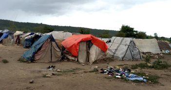 Dominican Haitian Refugee Camp
