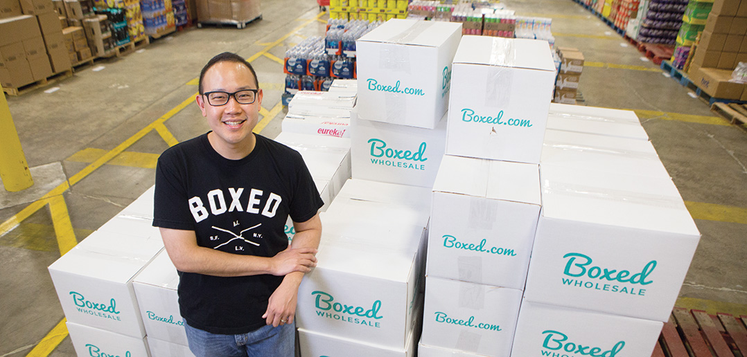Like Amazon Prime, Boxed provides great deals to shoppers at the comforts of their homes.
