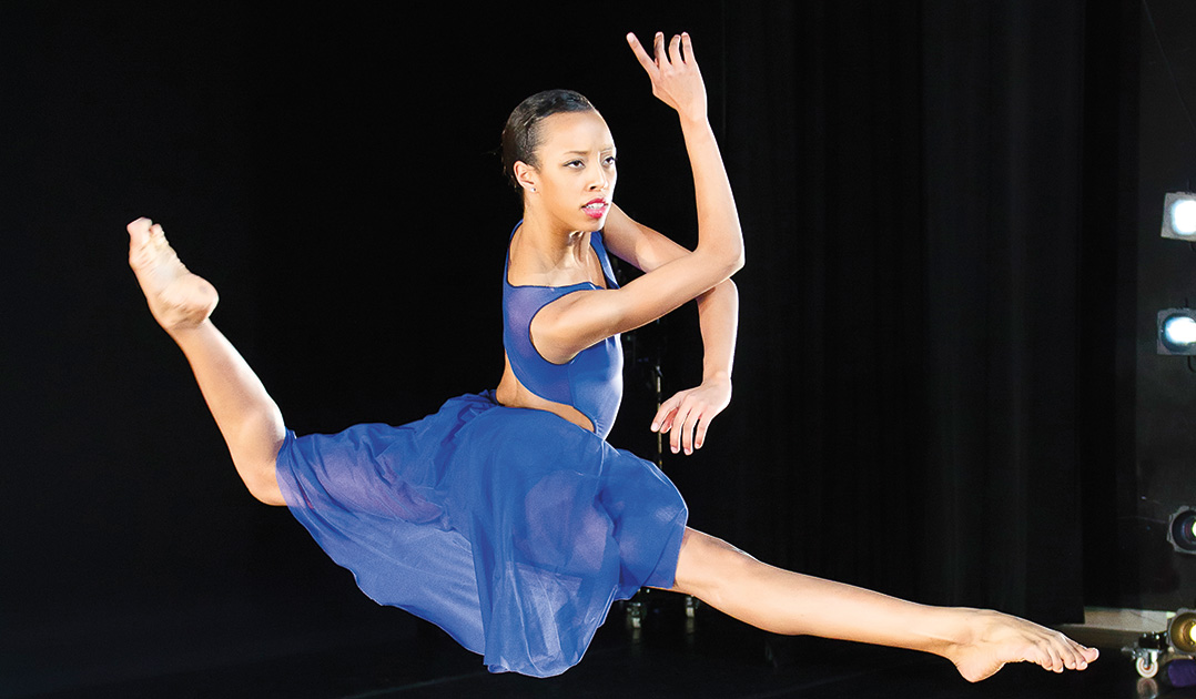 Ailey/Fordham senior Courtney Celeste Spears has launched her professional dance career as a member of Ailey II.