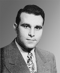 Joseph Cammarosano's photo in the 1948 Fordham Maroon yearbook.