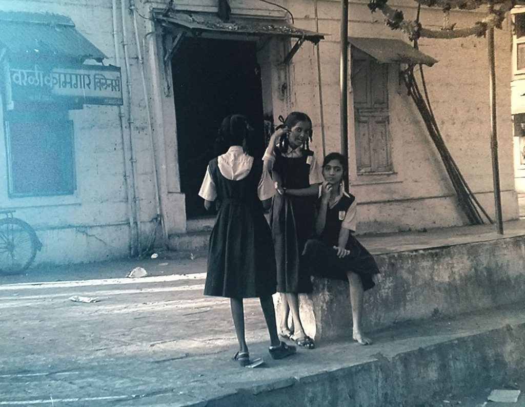A photo taken by Professor Hanson while in India.
