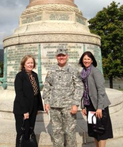 Dean Roach, Major Spencer, and Rhonda Bondie
