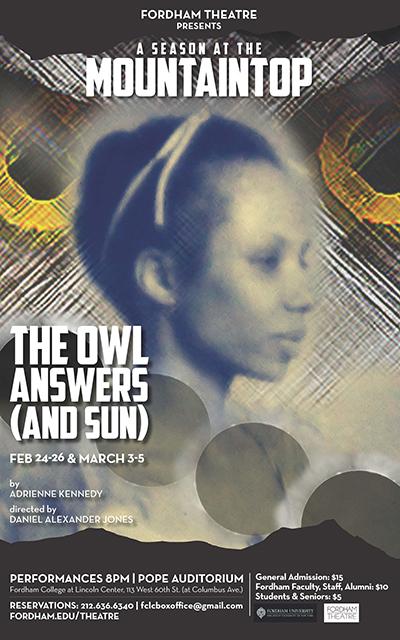 Daniel Alexander Jones The Owl Answers