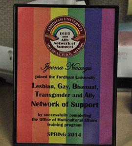 LGBT-placard