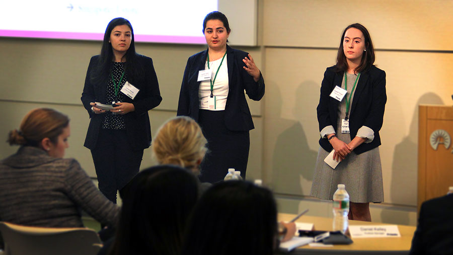 women in business Gabelli School