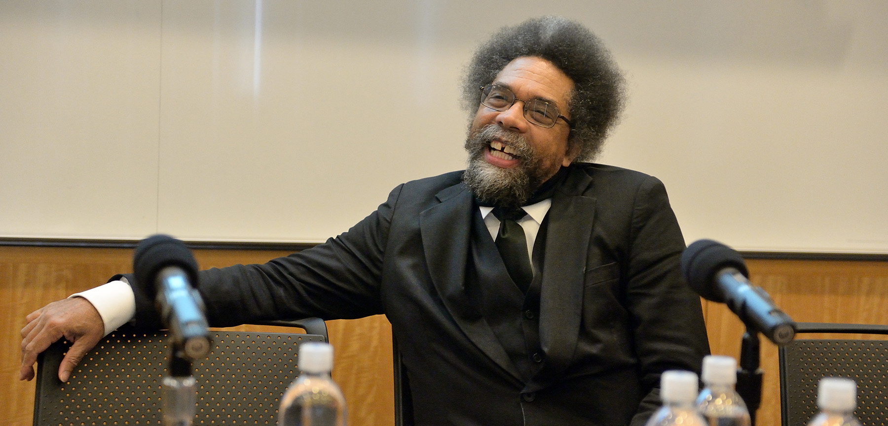 cornel west education At tuesday's event, cornel west spoke with conviction and compassion, demonstrating care for his audience even as the event reached its scheduled end, he remained committed to speaking to every audience member who had a question for him i just want to revel in your humanity no matter what.