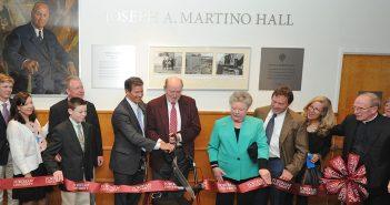 Martino Hall dedication