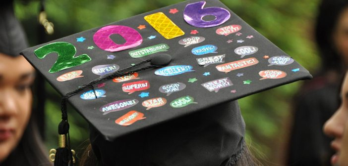 Commencement Caps, Made for Messaging