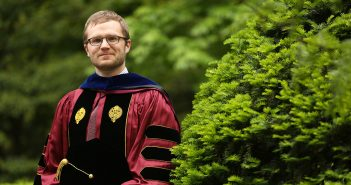 Joseph Vukov, PhD, at Commencement