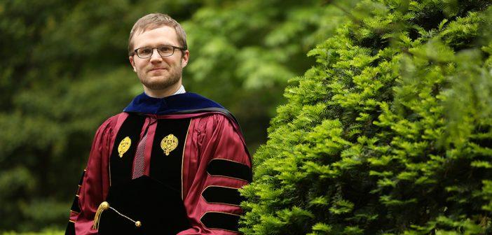 Joseph Vukov, PhD, at Commencement