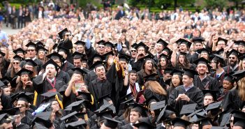 Commencement Crowd