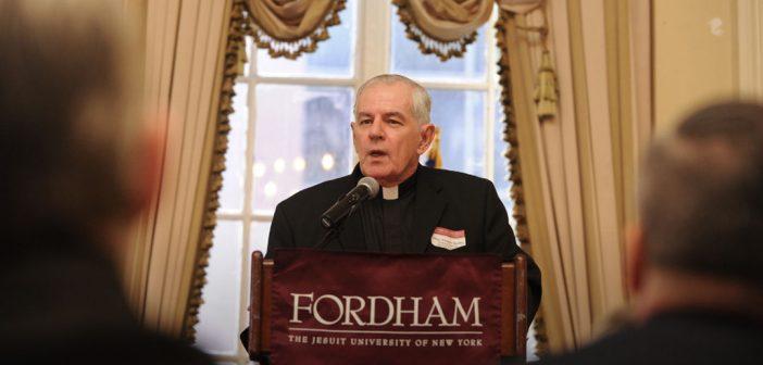 Monsignor Shelley, author and professor emeritus