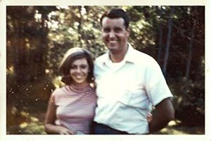 Summer of '65: Joyce and Brian at his grandmother's summer home at Lake Oscawanna, near Peekskill, New York.