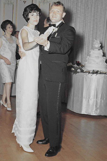 As a graduate student at the University of Iowa, Bornstein met and fell in love with Judy Cohan. They were married on July 9, 1967.