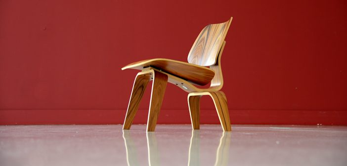 Eamse Lounge Chair Wood