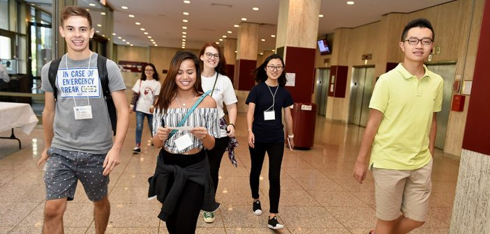Fordham Welcomes Its Largest Ever Cohort of International Students