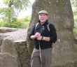 Ed Blount, FCRH '69, hiking the Ridgeway Trail
