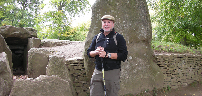 Ed Blount, FCRH '69, hiking the Ridgeway Trail