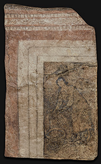 The Woman at the Well: This may be the oldest existing image of the Virgin Mary, according to Michael Peppard. He also contends that the women depicted in the image at the top of this post are processing to a wedding and not a funeral, as scholars previously believed. Images courtesy of Yale University Art Gallery