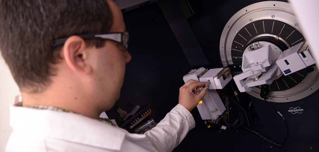The X-ray powder diffractometer