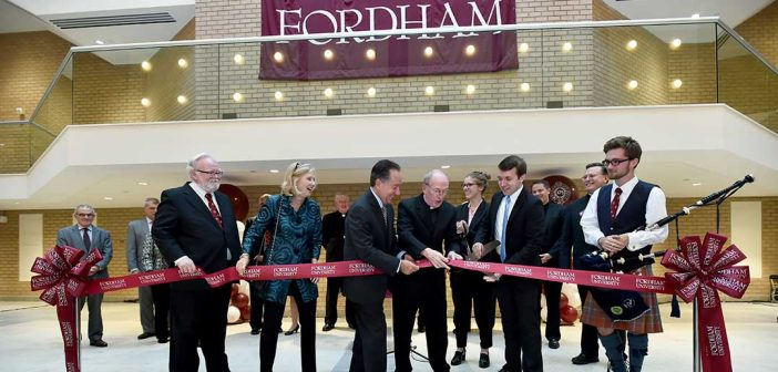 Fordham Unveils Newly Refurbished Lincoln Center Space
