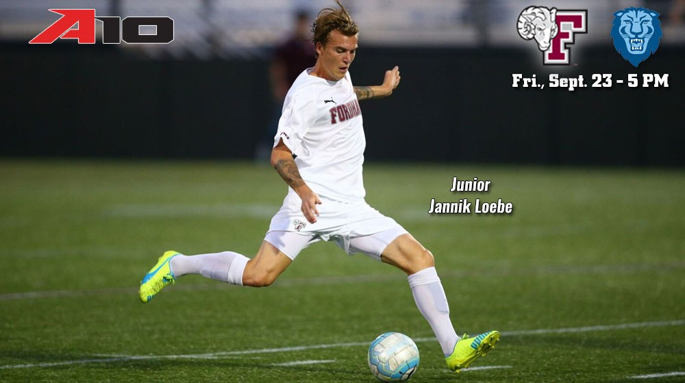 Men's Soccer Hosts Columbia on Friday to Kick Off Homecoming