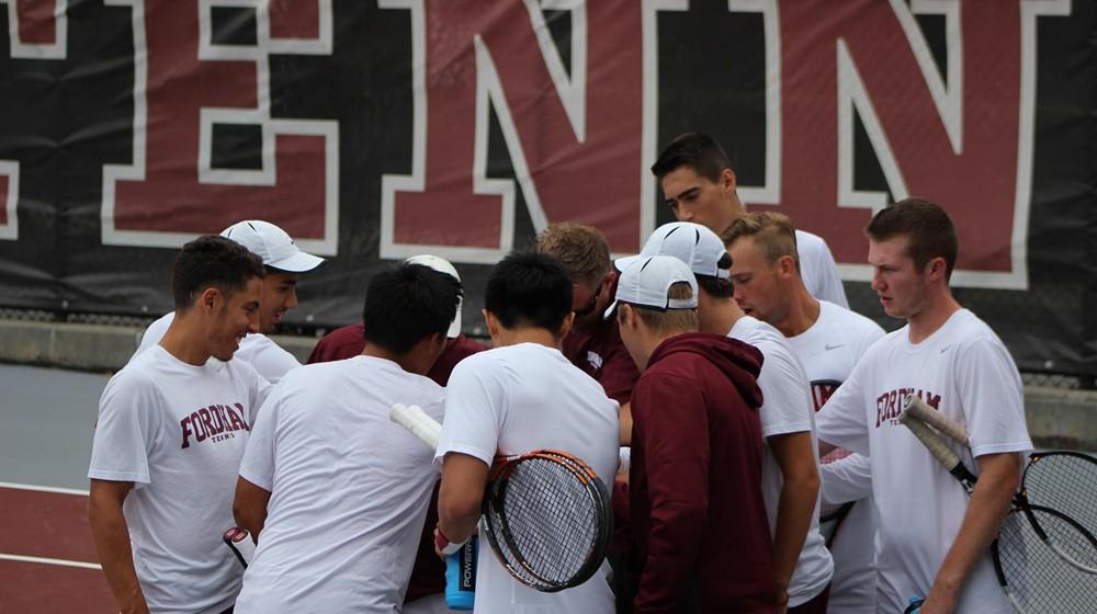 Men's Tennis Sweeps Ramapo College, 7-0