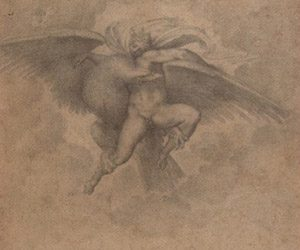 The Rape of Ganymede, by Michelangelo. Photo courtesy of Maria Ruvoldt.