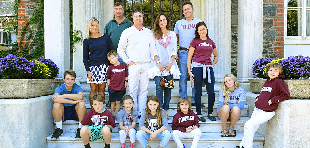 at homecoming family with deep fordham roots comes back to reconnect