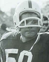 Richard Marrin Sr. as an undergraduate
