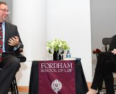 Notorious RBG Holds Court at Fordham Law