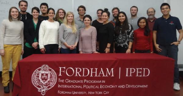 The IPED students who formulated the FFI