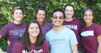 Fordham graduates and new members of JVC Northwest