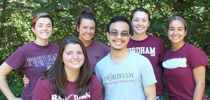Fordham graduates and new members of JVC Northwest