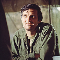 Alan Alda as Hawkeye Pierce in M*A*S*H