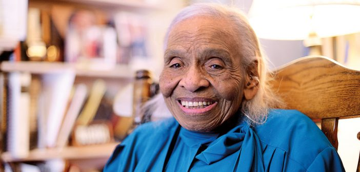 Olivia Hooker, the first black woman to enlist in the U.S. Coast Guard, taught psychology at Fordham from 1963 to 1985.