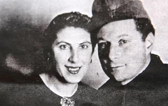 Mathilde Freund and her husband Fritz. Courtesy of Mathilde Freund